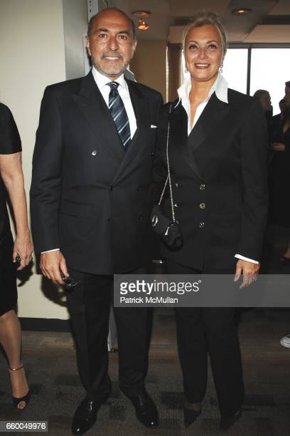 Shafik Gabr and Gigi Gabr attend WELCOME TO GULU EXHIBITION AND BENEFIT ART SALE ANTIHUMAN TRAFFICKING INNITIATIVE at The United Nations on May 12...