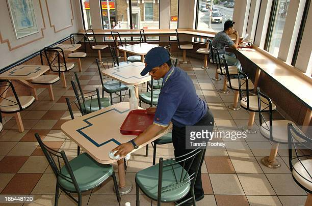 ShafquatHussainAugust 11 2004Shafquat Hussain 21 'works' cleaning tables at a Toronto McDonald's restaurant chain August 11 2004 Shafquat attends...