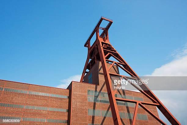 Shaft 12 In The Zollverein Coal Mine Industrial Complex Essen North RhineWestphalia Germany