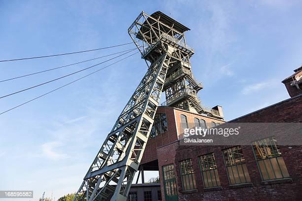 shaft tower im Zeche Zollern