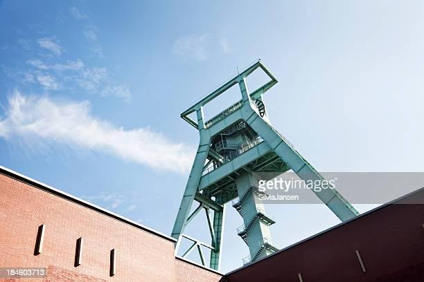 shaft tower des ehemaligen coal mine