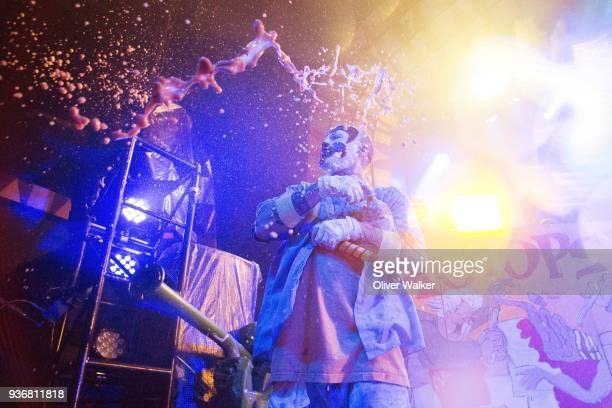 Shaggy 2 Dope of Insane Clown Posse at the Regent Theater on March 22 2018 in Los Angeles California