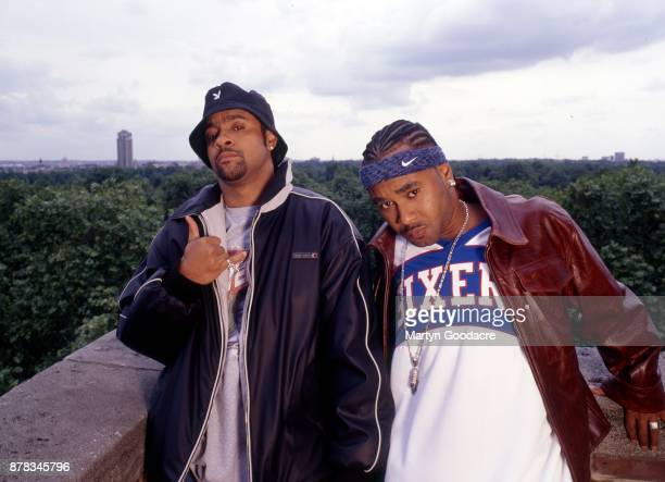 Shaggy and Rayvon portrait London 2001