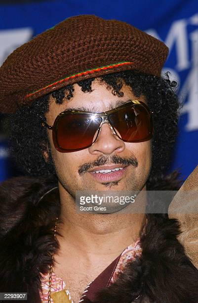 """Shaggy backstage during """"KTU's Miracle on 34th Street"""" hoilday concert at Madison Square Garden in New York City. December 18, 2002. Photo by Scott..."""