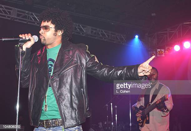 Shaggy celebrates release of new album Lucky Day in a private fans only concert at a Universal Studios backlot