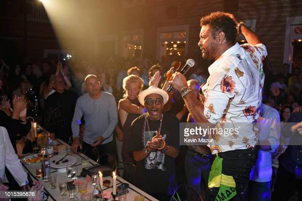 Shaggy performs during Apollo in the Hamptons 2018 Hosted by Ronald O Perelman at The Creeks on August 11 2018 in East Hampton New York