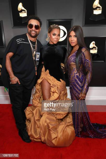 Shaggy,Ashanti and Toni Braxton attend the 61st Annual GRAMMY Awards at Staples Center on February 10, 2019 in Los Angeles, California.