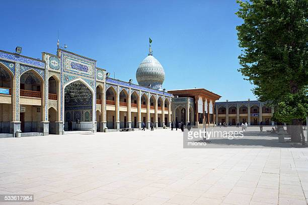shah cheragh mosque - miloniro stock pictures, royalty-free photos & images
