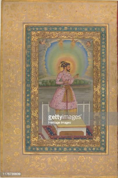 Shah Jahan on a Terrace 1627 Artist Anonymous