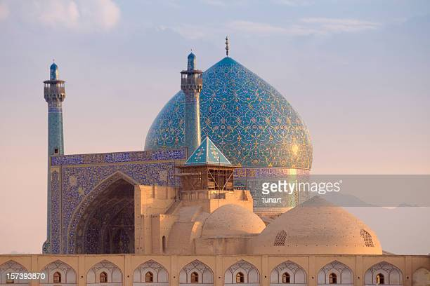 shah mosque, isfahan, iran - imam stock photos and pictures