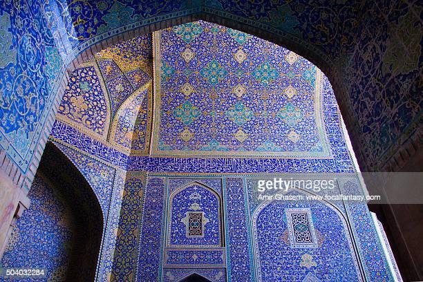 shah (imam) mosque - イマームホメイニ広場 ストックフォトと画像