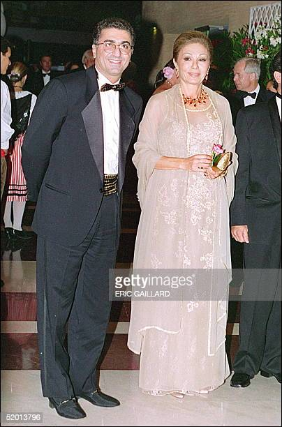 Shah Reza Pahlavi II of Iran smiles as he arrives with her mother former Empress Farah at the traditional Red Cross charity bal in Monte Carlo August...