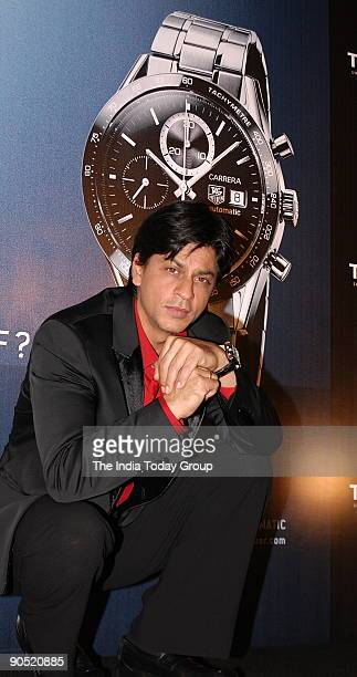 Shah Rukh Khan brand ambassador of Tag Heuer Launching a new Luxury sports watch and Tag Heuer on Tuesday announced the signing of Bollywood...