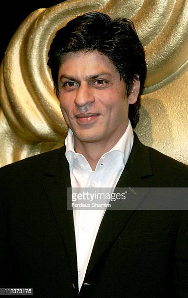 Shah Rukh Khan during BAFTA Goes to Bollywood Photocall at BAFTA in London Great Britain