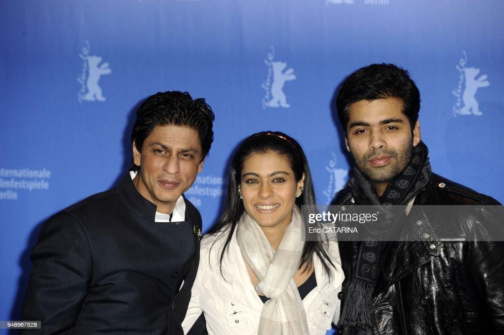 Shah Rukh Khan Kajol Devgan Karan Johar