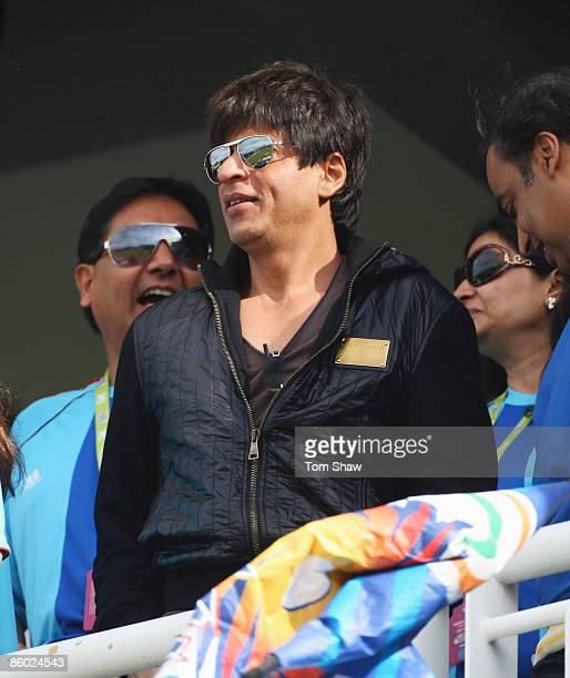 Shah Rukh Khan of Kolkata Knight riders during the IPL T20 match between Mumbai Indians and Chennai Super Kings at Newlands Cricket Ground on April...