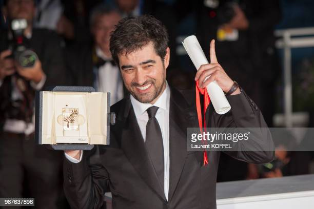 Shahab Hosseini attends the Palm D'Or Winner Photocall during the 69th annual Cannes Film Festival on May 22 2016 in Cannes France