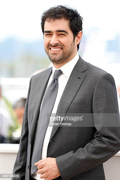 Shahab Hosseini attends The Salesman Photocall during the 69th annual Cannes Film Festival at the Palais des Festivals on May 21 2016 in Cannes France