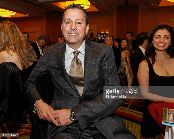 Shahab Moradian smiles at the PARS Equality Center 4th Annual Nowruz Gala at Marriott Waterfront Burlingame Hotel on March 8 2014 in Burlingame...