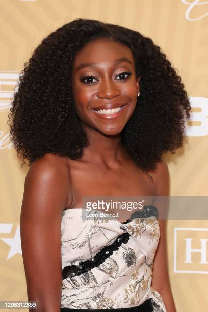 Shahadi Wright Joseph attends American Black Film Festival Honors Awards Ceremony at The Beverly Hilton Hotel on February 23, 2020 in Beverly Hills,...