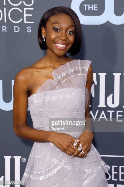 Shahadi Wright Joseph attends the 25th Annual Critics' Choice Awards at Barker Hangar on January 12, 2020 in Santa Monica, California.