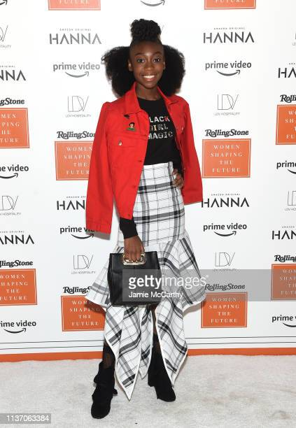 Shahadi Wright Joseph attends the Rolling Stone's Women Shaping The Future Brunch at the Altman Building on March 20, 2019 in New York City.