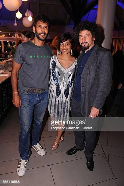 Shahana Goswami Milind Soman and Radu Mihaleanu at 5 Th Ile de La Reunion Film Festival Ceremony