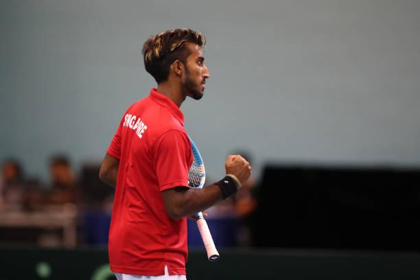 SGP: Davis Cup Asia/Oceania Group III - Day 1