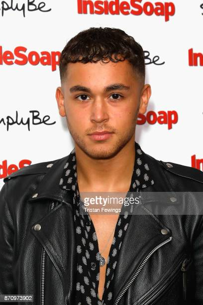 Shaheen Jafargholi attends the Inside Soap Awards held at The Hippodrome on November 6 2017 in London England