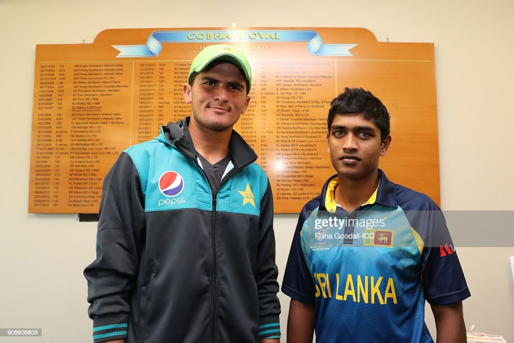 ICC U19 Cricket World Cup - Sri Lanka v Pakistan