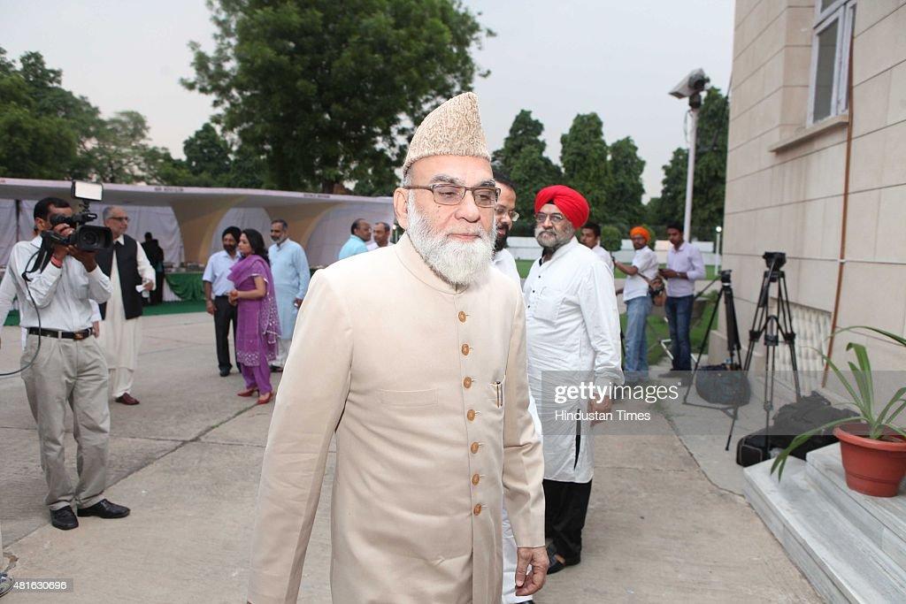 Pakistani High Commissioner Abdul Basit Hosts Eid Milan Celebrations : News Photo
