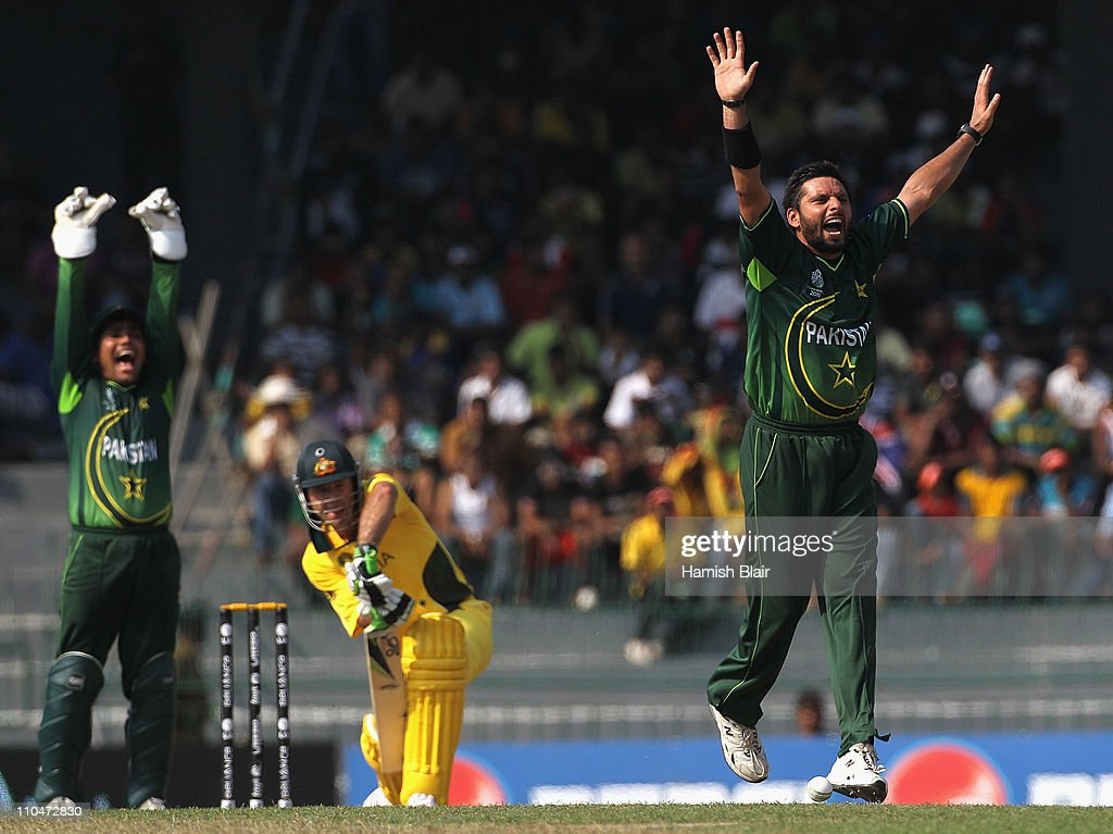 Australia v Pakistan: Group A - 2011 ICC World Cup : News Photo