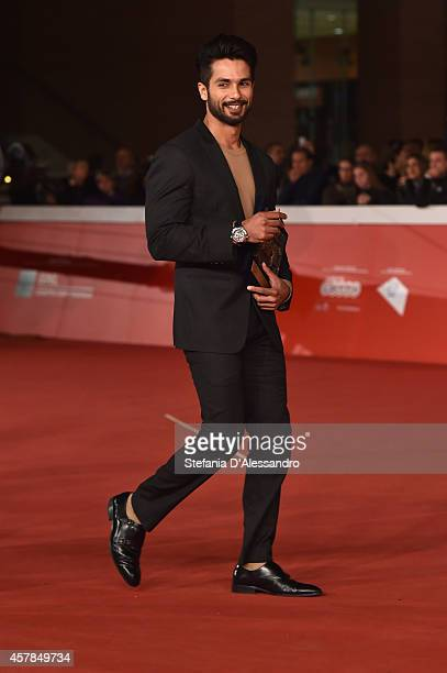 Shahid Kapoor attends the Award Winners Photocall during the 9th Rome Film Festival on October 25 2014 in Rome Italy