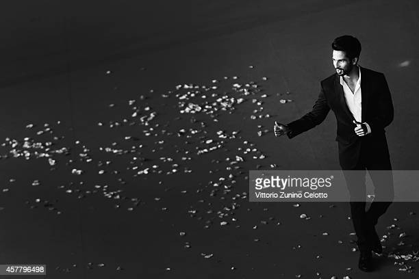 Shahid Kapoor attends the 'Haider' Red Carpet during the 9th Rome Film Festival on October 24 2014 in Rome Italy