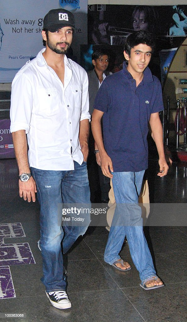Shahid Kapur at the preview of the film Kites in Mumbai on May 20, 2010.