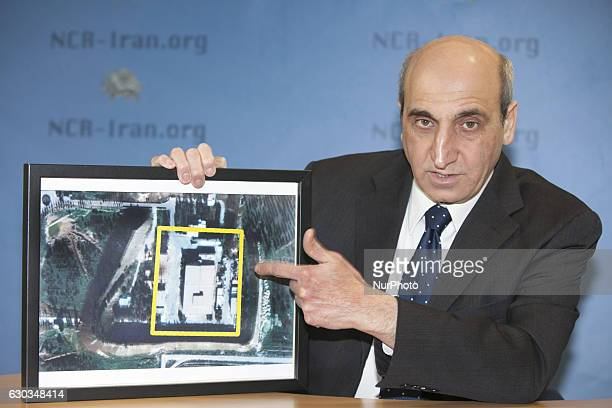 Shahin Gobadi spokesman of the main Iranian opposition movement the Peoples Mojahedin Organization of Iran in an online conference from north of...