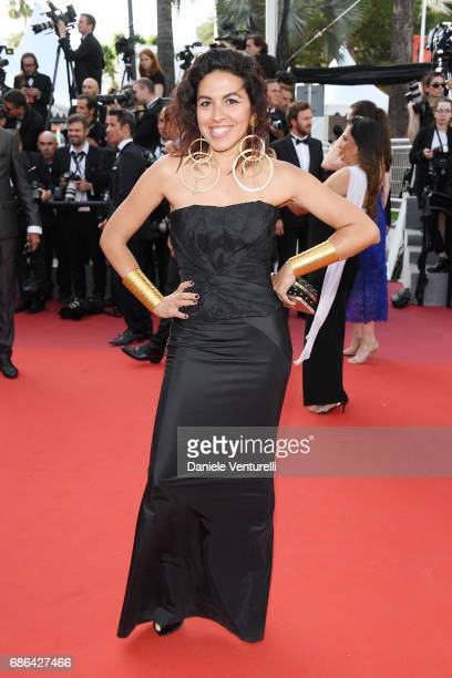 Shahira Fahmy attends the 'The Meyerowitz Stories' screening during the 70th annual Cannes Film Festival at Palais des Festivals on May 21 2017 in...