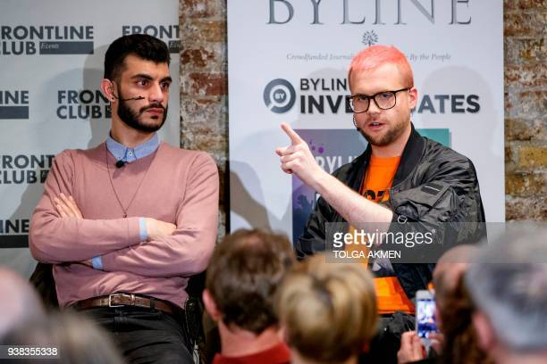 Shahmir Sanni a volunteer for Vote Leave the official proBrexit EU referendum campaign and Christopher Wylie who worked with Cambridge Analytica...