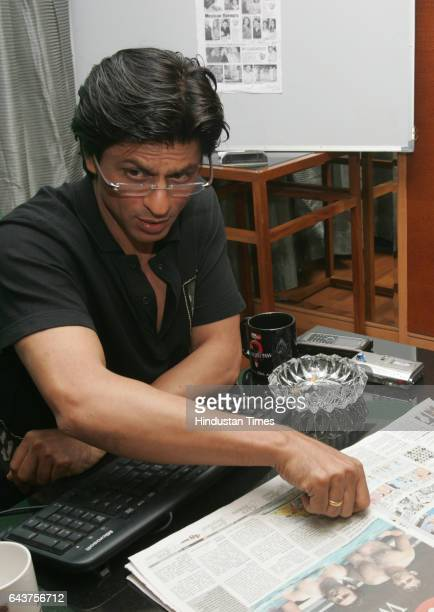 SRK Shahrukh Khan was the guest editor for HT Cafe