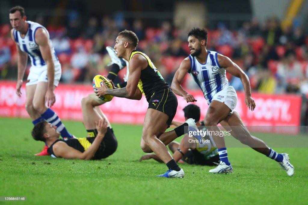 AFL Rd 7 - Richmond v North Melbourne : News Photo