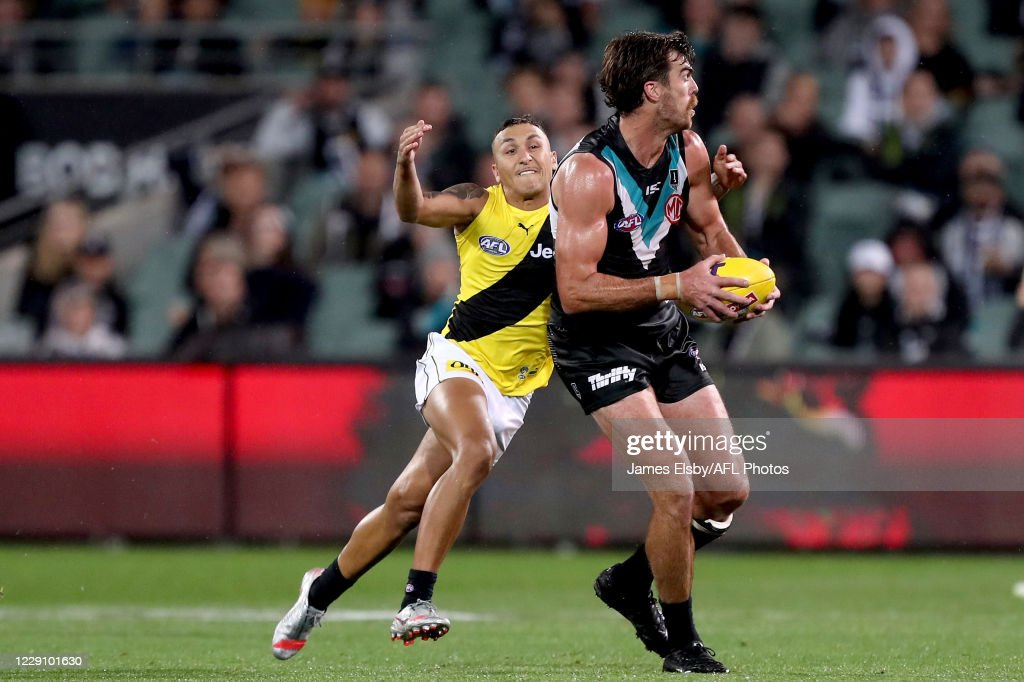 AFL 1st Preliminary Final - Port Adelaide v Richmond : News Photo