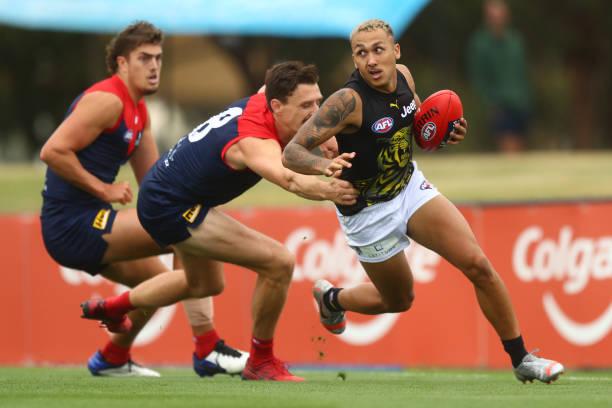 AUS: AFL Practice Match - Melbourne v Richmond