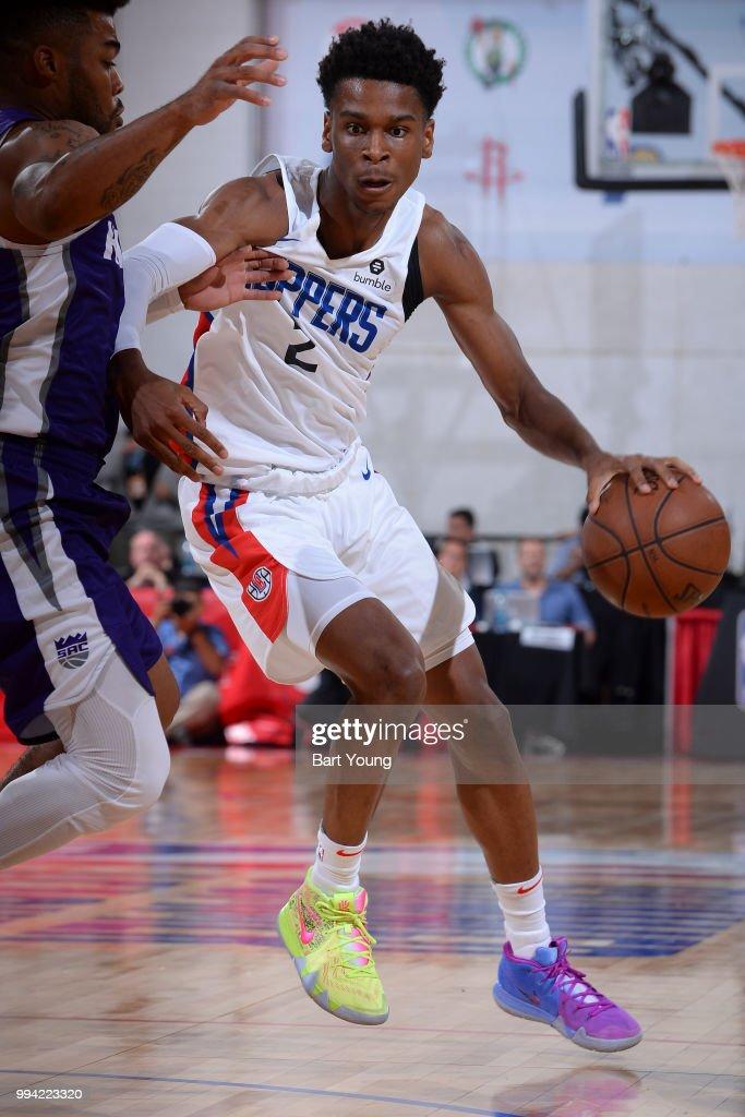 8d7b6cd369b 2018 NBA Summer League - Las Vegas - Sacramento Kings v LA Clippers   News  Photo