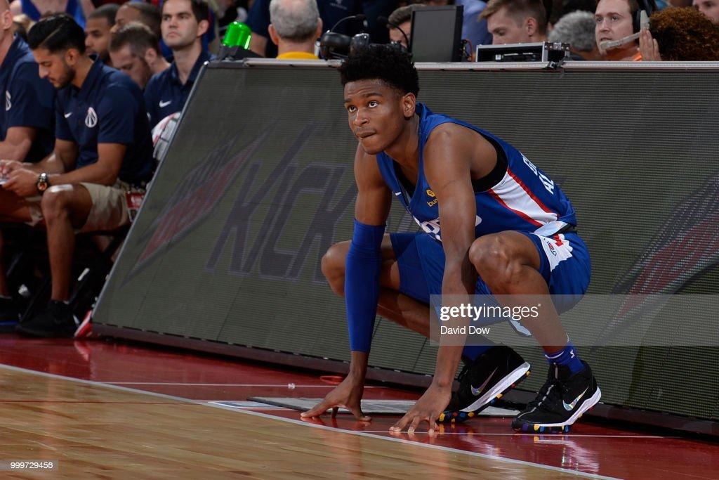 64a74c78781 2018 Summer League - Las Vegas - LA Clippers v Washington Wizards : News  Photo