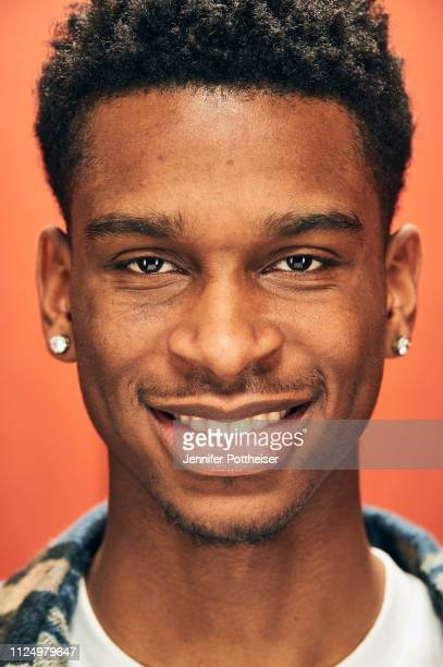Shai GilgeousAlexander of the LA Clippers poses for a portrait during the 2019 NBA AllStar circuit on February 14 2019 at the Sheraton Hotel in...