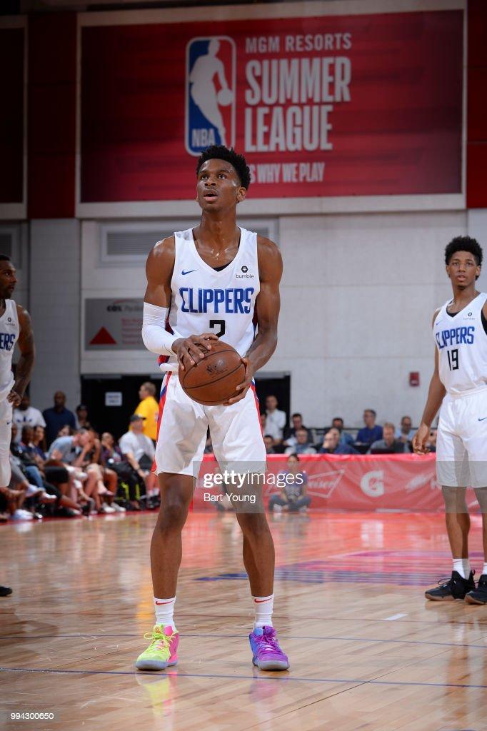 f9357d8a54a 2018 NBA Summer League - Las Vegas - Sacramento Kings v LA Clippers : News  Photo