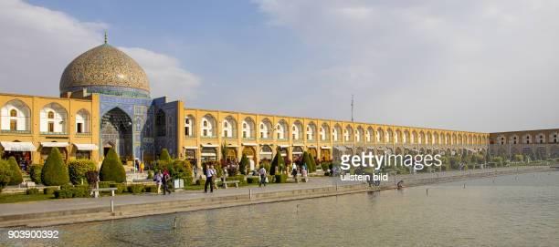 ShaikhLotfullahMoschee Isfahan Esfahan Iran IRN Islamische Republik Iran Gottesstaat Persien Vorderasien Schiiten Islam Muslime UNESCOWelterbe...