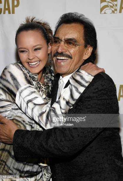 Shaila Durcal and Joan Sebastian during 15th Annual ASCAP Latin Music Awards Cocktail Reception at Nokia Theatre in New York City New York United...