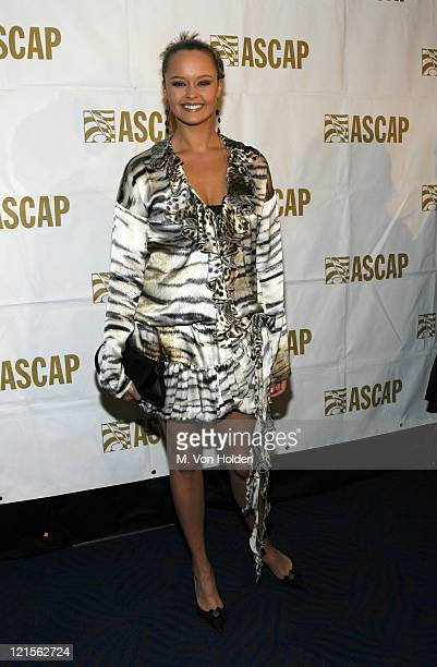 Shaila Durcal during 15th Annual ASCAP Latin Music Awards - Cocktail Reception at Nokia Theatre in New York City, New York, United States.