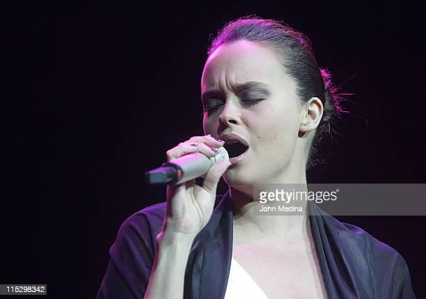 Shaila Durcal performs at HP Pavilion on November 28 2008 in San Jose California